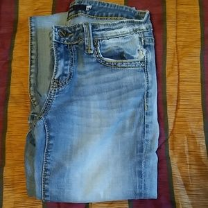 Vigoss Distressed Flare Jeans Size 3